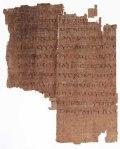 Manuscrito sobre Judas en Copto, 1700 años de antiguedad