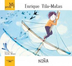 Cubierta de: Mi primer Enrique Vila-Matas. Niña