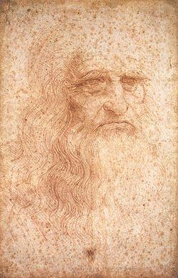Leonardo da Vinci. Autorretrato