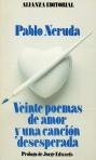 20 poemas de amor y una canción desesperada. Ed. 1991