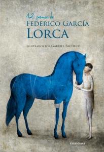 Cubierta de: 12 poemas de Federico García Lorca