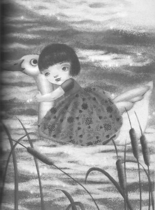 """Ilustración de Teresa Rámos para """"Hansel y Gretel"""" de los Hermanos Grimm"""