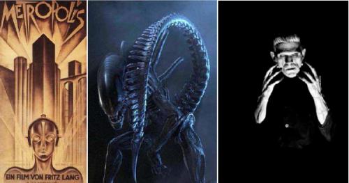 Metrópolis, Alien, Frankenstein