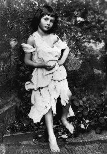 Fotografía de Alice Liddell por Lewis Carroll (1858)