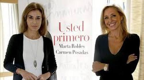 Marta Robles y Carmen Posadas