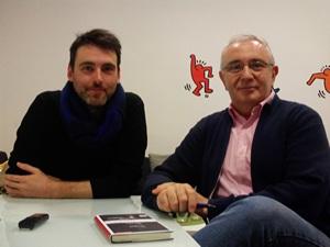 Con Daniel Jiménez (1)