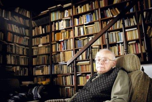 Stanisław Lem en su casa