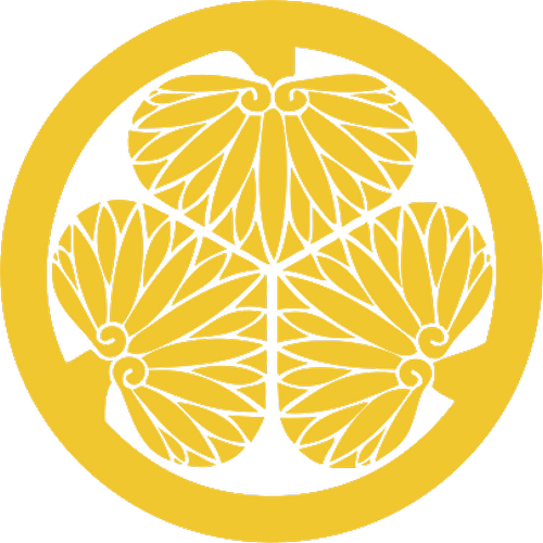 Mon del clan Tokugawa.