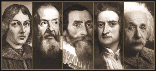 Copernico - Galileo - Kepler - Newton - Einstein